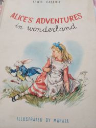 Vintage 1958 Alice book fully illustrated and in good condition £15