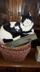 Metal plate American cat hooks £10