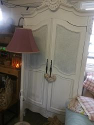 Armoire Shelves & Hanging Inside 208cm x 100cm Wide £350 SOLD
