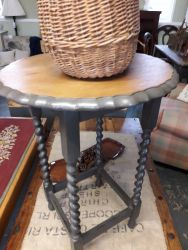 Barley twist occasional table £30