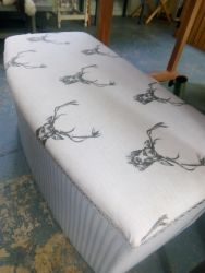 Recovered & Painted Blanket Box - £45   SOLD