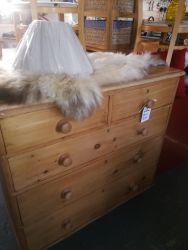 Blonde Pine Chest 97cm Wide - £110   SOLD
