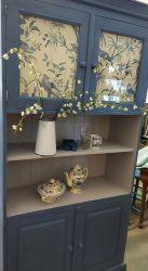 Beautiful blue dresser 200cm high by 98cm wide £145