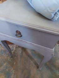 Blue grey bedside £25   SOLD