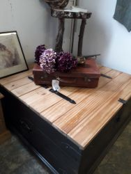 Very large storage box/coffee table £95