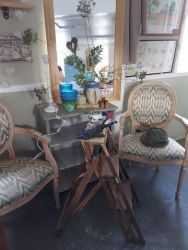 Pair French style chairs £70 each