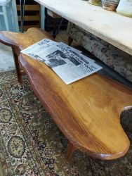 Very nice coffee table made from a slab of wood £45