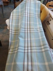 Super pair of Duck egg curtains Size 220cm long by 128cm wide £30    SOLD