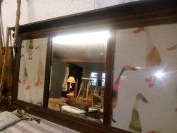 Edwardian Mirror 120cm Long - £40