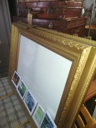 Large Frame With Glass 95cm x 78cm - £30