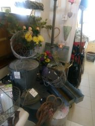 Vintage Galvanised Pots & Tubs Have A Special Look In The Garden From - £5