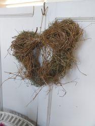 Grass hearts £5 each