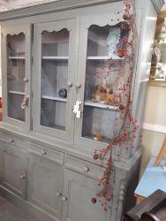 Beautiful faded Green dresser  150cm long. A good sturdy piece with plenty storage  £345    SOLD