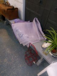 Large Gym Bench Painted 180cm Painted - £60