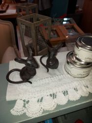 These lovely little iron mice are the perfect gift £10 for two