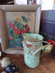 Vintage oil £14 and vintage jug £20