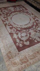 Large woolen carpet 280 by 210cm   £75