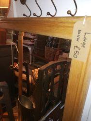 Large Oak Mirror 102cm x 130cm - £50