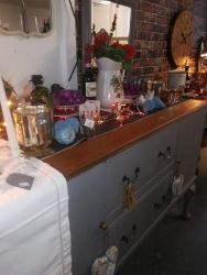Long, Renovated Sideboard - £95   SOLD