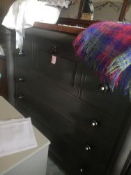 Large Painted Scottish Chest 130cm Wide - £140   SOLD