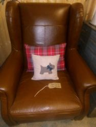 Good Leather Chair - £125   SOLD