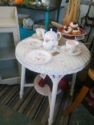 Lloyd Loom Table - £25