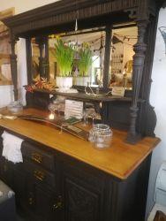 Elegant Large Mirror Back Side-Board 170cm Wide x 60cm Deep x 192cm High - £245SOLD