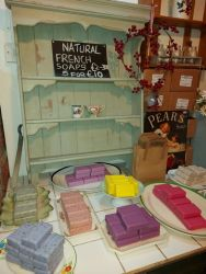 Natural French soaps