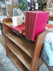 Nice vintage oak bookcase £25