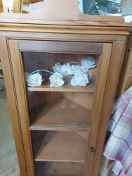 Pine corner wall cabinet £65