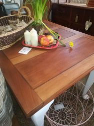 Renovated Table 107cm x 92cm - Has The Ability To Extend - £80