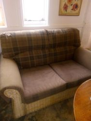 Lovely Condition Rattan Sofa - £110
