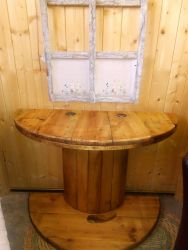 Rustic Hall/Lounge Table - 90cm x 67cm High - £40   SOLD