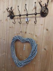 Single metal Stag hooks £7.50 each