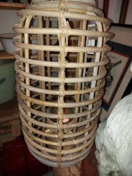 Tall bamboo lanterns with hanger £24  I still have a few of these.
