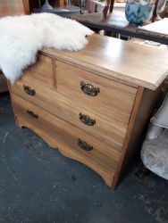 Very nice vintage two over two chest £85