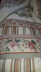 Vintage rustic double quilt £25